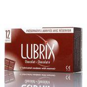 Condoms Lubrix Chocolat x12