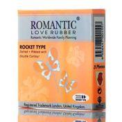 Condoms Romantic Rocket Type x3