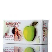 Condoms Romantic Green Apple x12