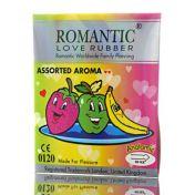 Condoms Romantic New Assorted Aroma x3