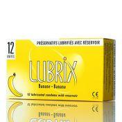 Lubrix Condoms Banana x12