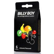 Billy Boy Condoms Coloured & Flavoured x4