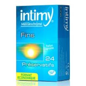 Condoms Intimy Fin x24