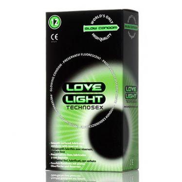 Love Light Glow in the dark Condom x144