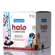Pasante Halo Condoms x144