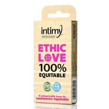 Intimy Condom Ethic Love x6