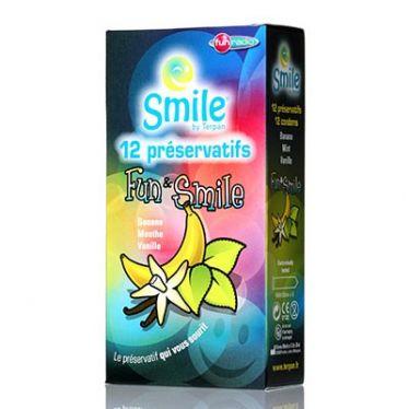 Smile Condoms Fun & Smile x12