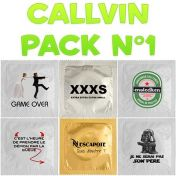 Callvin condom pack n°1 x6