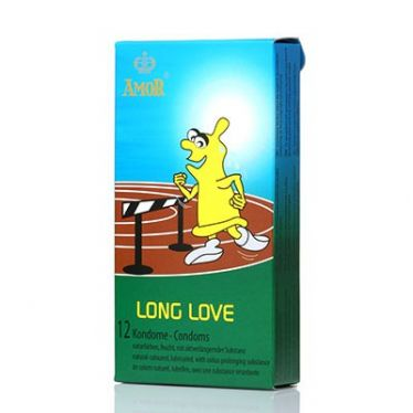 Amor condom Long Love x12