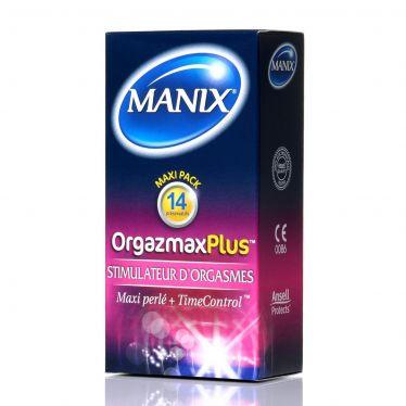 Manix Condom OrgazMax Plus x14