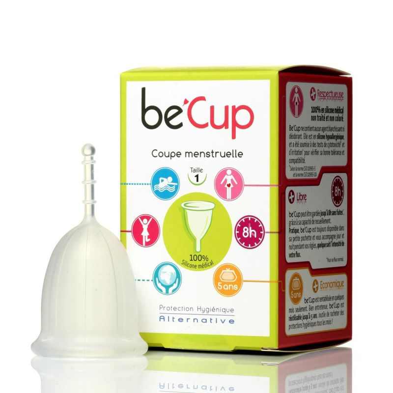 Menstrual cup be 39 cup medical silicone 2 sizes - Biocoop coupe menstruelle ...