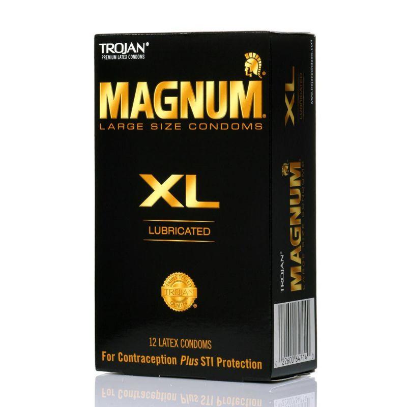 trojan condom magnum magnum xl ou magnum thin big size x10